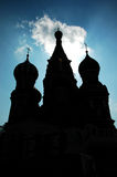 St. Basils's Cathedral. St. Basil's Cathedral in Moscow Stock Photography