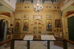 St basilu Katedralny wnętrze moscow Rosji Zdjęcie Royalty Free