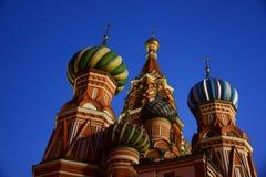 St basilu ` s katedra na placu czerwonym zdjęcia stock