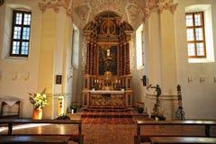 St. Batholomew's church interior Royalty Free Stock Images