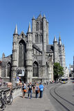 St. Bavo Cathedral in Ghent, Belgium Royalty Free Stock Photography