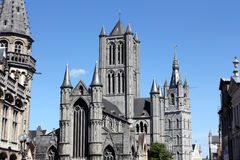 St. Bavo Cathedral in Ghent, Belgium Royalty Free Stock Photo