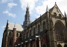 St.Bavo Church in Haarlem Stock Photos