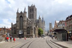 St Bavo's Cathedral, Ghent Royalty Free Stock Image