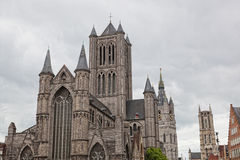 St Bavon Cathedral Ghent Stock Photo