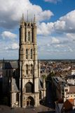 St Bavos Cathedral, Gent. Royalty Free Stock Image