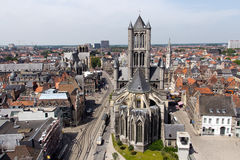St Bavos Cathedral in Gent Stock Images