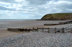 St Bees beach Stock Images