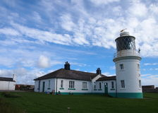 St Bees Lighthouse, Cumbria, Great Britain Stock Image