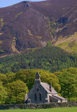 St Bega-Mirehouse. Church of St Bega near Mirehouse in the Lake District of UK Stock Images