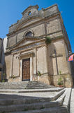 St. Benedetto Church.Oria. Puglia. Italy. Stock Photo