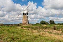 St benet's Windmill Stock Photo
