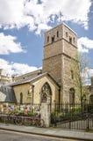 St Benets (Benedicts) kerk in Cambridge Stock Foto's