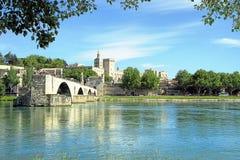 St.-Benezet bridge in Avignon, France Stock Photography