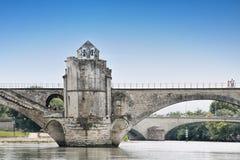 St.-Benezet bridge in Avignon, France Royalty Free Stock Image