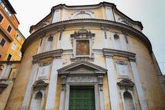 St Bernard al alle Terme di Bernardo dei bagni a Roma, Italia fotografia stock