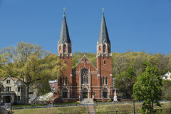 St. Bernard Catholic Church, Rockville, Connecticut. Royalty Free Stock Photos