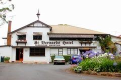 St Bernard Hotel na montanha de Tamborine, Austrália fotos de stock