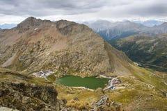St Bernard Pass di grande in Svizzera Fotografie Stock Libere da Diritti