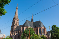 St Bernhard Religious Architecture Be de la catedral de la iglesia de Karlsruhe Imagen de archivo