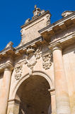 St. Biagio Gate. Lecce. Puglia. Italy. Stock Photos