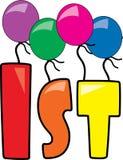 1st Birthday Stock Image