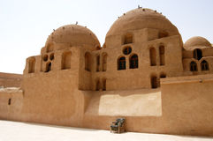 St. Bishop Monastery, Egypt. Coptic Monastery of St. Bishop in Egypt, close-up stock photos