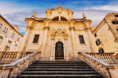 St Blaise Church dans Dubrovnik Images stock