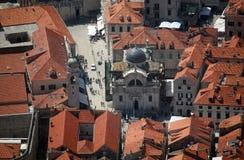 St Blaise church. Dubrovnik Stock Images