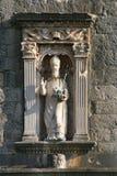 St Blaise en tant que saint patron de Dubrovnik image libre de droits