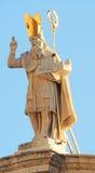 St Blaise Statue Dubrovnik Stock Photo