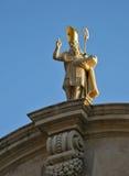 St Blasius -杜布罗夫尼克 免版税库存照片