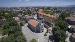 St Bogoroditsa kościół, Plovdiv, Bułgaria, 23 2018 Październik obrazy stock