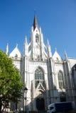 St Boniface Church, Ixelles, Bryssel, Belgien Arkivbilder