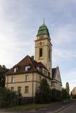 St. Bonifatius Church in Werdau, Germany, 2015 Stock Photo