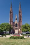 St Bonifatius Kirche. St Bonifatius Church in Wiesbaden, Germany Royalty Free Stock Images