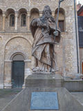 St Bonifatius monument in Mainz. Germany stock photography