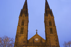 St Bonifatius a Wiesbaden in Germania fotografie stock