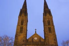 St. Bonifatius in Wiesbaden in Germany. St. Bonifatius church in Wiesbaden in Germany Stock Photos