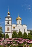 St Boris and Gleb Cathedral (XVI c.) in Dmitrov, Russia Royalty Free Stock Images
