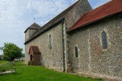St Botolphs kościół Sas Budujący, Botolphs, Sussex, UK obraz stock