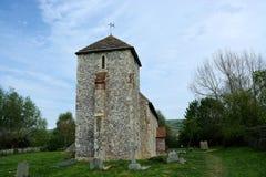 St Botolphs kościół Botolphs, Sussex, UK fotografia royalty free