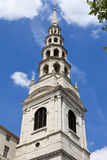 St. Bride's Church in London Royalty Free Stock Image