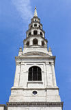 St. Bride's Church in London Stock Images