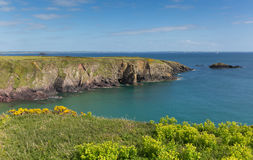 St Brides Bay Pembrokeshire West Wales UK near St Davids Stock Image