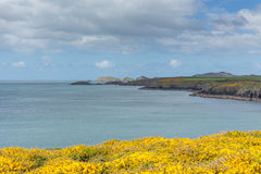 St Brides bay Wales Stock Photos