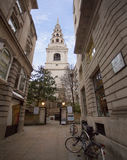 St Brides Church London Stock Photos