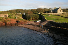 St Brides Haven,. Pembrokeshire coast, Wales UK stock photography