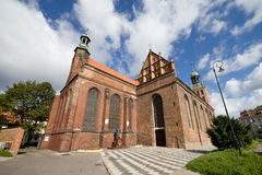 St. Bridget Church in Gdansk Royalty Free Stock Photos