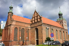 St. Bridget Church in Gdansk Royalty Free Stock Image